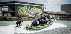 """Linz, die Stadt an der Donau: """"Bubbledays"""" inmitten der Outdoor-Graffiti-Galerie """"Mural Harbor"""" (c) Flap"""
