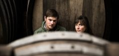 Johannes und Martina Groß geben ihren Riedenweinen mindestens vier Jahre Zeit am Weingut.