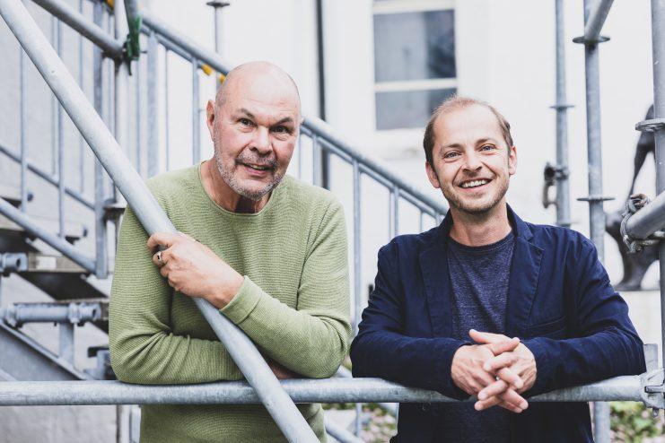 Walserherbst Festivalleitung Dietmar Nigsch & Eugen Fulterer (c) Magdalena Türtscher