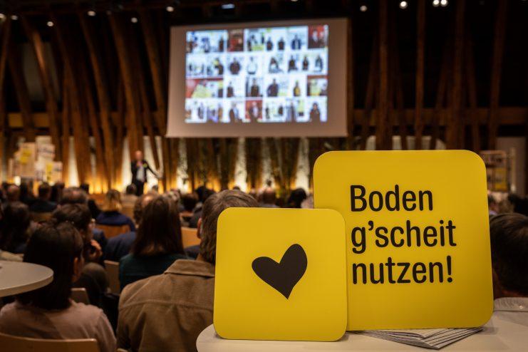 Landluft: Preisverleihung Baukulturgemeinde-Preis 2021 (23.9.2021, Kuppelsaal TU Wien) Foto: eSeL.at - Lorenz Seidler
